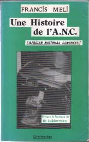 Histoire De L'A.N.C - Couverture - Format classique