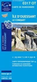 Île d'Ouessant ; 0317 OT - Couverture - Format classique