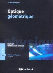 Optique geométrique - Intérieur - Format classique