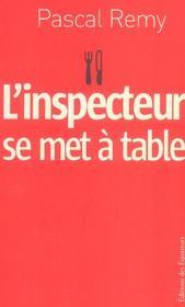 L'inspecteur se met a table - Intérieur - Format classique