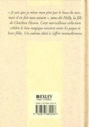De L'Amour Entre Peres Et Filles - 4ème de couverture - Format classique