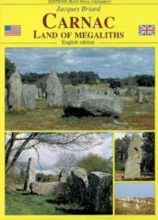 Carnac land of megalithis - Couverture - Format classique
