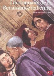 Dictionnaire de la Renaissance italienne - Intérieur - Format classique