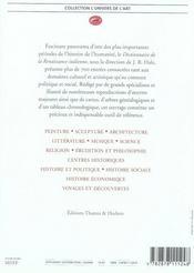 Dictionnaire de la Renaissance italienne - 4ème de couverture - Format classique