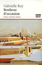 Bonheur D'Occasion - Couverture - Format classique