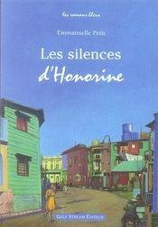 Les silences d'honorine - Intérieur - Format classique