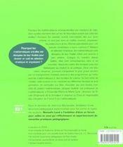 Echecs et maths - 4ème de couverture - Format classique