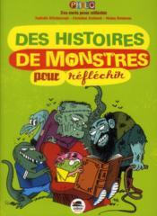 Des histoires de monstres pour réfléchir - Couverture - Format classique