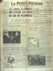 Petit Parisien Edition De Paris (Le) du 01/05/1941 - Couverture - Format classique