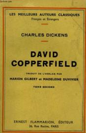 David Copperfield. Tome 2. - Couverture - Format classique