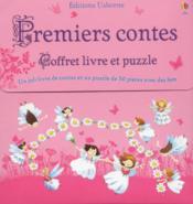 Premiers contes ; coffret ; livre et puzzle - Couverture - Format classique