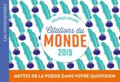Vente  Les plus jolies citations du monde (édition 2019)  - Collectif
