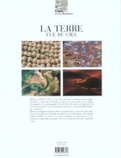 La Terre vue du ciel ; un portrait aérien de la planète ; édition 2003 - 4ème de couverture - Format classique