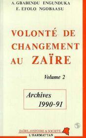 Volonte De Changement Au Zaire T2 - Intérieur - Format classique