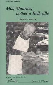 Moi, Maurice, Bottier A Belleville - Intérieur - Format classique