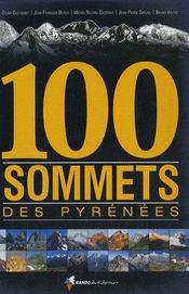 100 sommets des pyrénées - Intérieur - Format classique