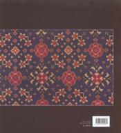 Tissus Indiens - 4ème de couverture - Format classique