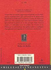 Sectes A Vendre - 4ème de couverture - Format classique