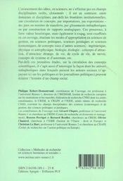 L'importation de concepts - 4ème de couverture - Format classique
