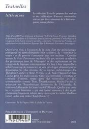 Récits et fictions des mondes disparus ; l'archéologie-fiction - 4ème de couverture - Format classique