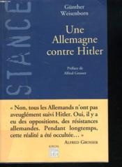 Une Allemagne Contre Hitler - Couverture - Format classique