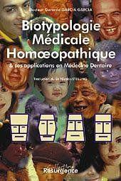 Biotypologie Medicale En Homeopathie - Couverture - Format classique