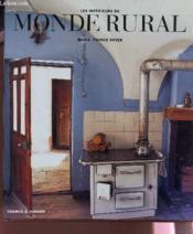 Les intérieurs du monde rural - Couverture - Format classique