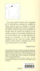 Balade en Seine-Maritime - 4ème de couverture - Format classique