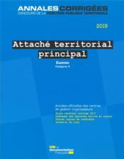 Vente  Attaché territorial principal 2019 ; examen professionnel  - La Documentation Fra - Collectif