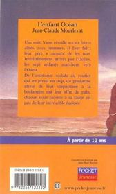 L'enfant océan - 4ème de couverture - Format classique