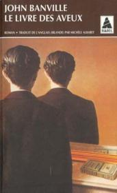 Le livre des aveux - Couverture - Format classique