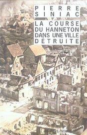 La Course Du Hanneton Dans Une Ville Detruite - Intérieur - Format classique