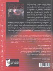Imaginaire Du Volcan - 4ème de couverture - Format classique