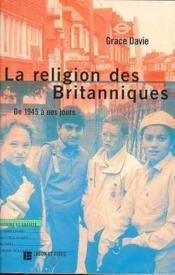 La Religion Des Britanniques - Couverture - Format classique