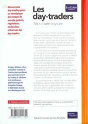 Ech Les Day-Traders - 4ème de couverture - Format classique