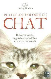 Petite Anthologie Du Chat - Intérieur - Format classique