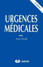 Urgences médicales (5e édition) - Couverture - Format classique