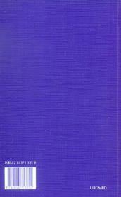 Urgences médicales (5e édition) - 4ème de couverture - Format classique