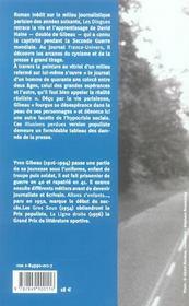 Dingues - 4ème de couverture - Format classique
