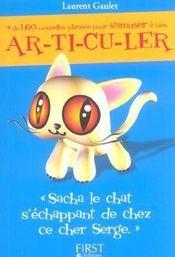 Sacha le chat s'échappant de chez ce cher Serge - Intérieur - Format classique