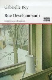 Rue Deschambault - Couverture - Format classique
