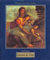 Les maitres de l'art italien ; leonardo de vinci 1452-1519 - Intérieur - Format classique