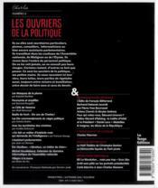 Revue Charles N.3 ; Les Ouvriers De La Politique - 4ème de couverture - Format classique