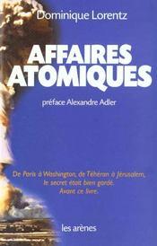 Affaires Atomiques - Intérieur - Format classique