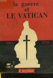 La Guerre Et Le Vatican - Couverture - Format classique