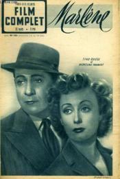 Tous Les Jeudis - Film Complet N° 184 - Marlene - Couverture - Format classique