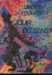 Jouir Du Sens - Couverture - Format classique