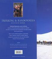Trekking & Randonnees Autour Du Monde - 4ème de couverture - Format classique
