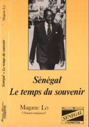 Sénégal, le temps du souvenir - Couverture - Format classique