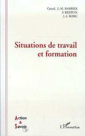 Situations De Travail Et Formation - Intérieur - Format classique